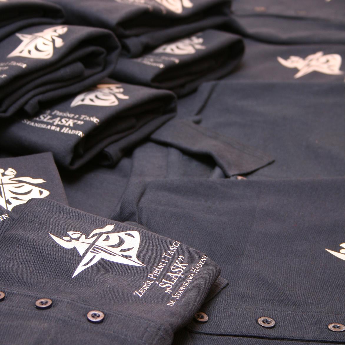 Nadruk na koszulkach polo (folia flex)