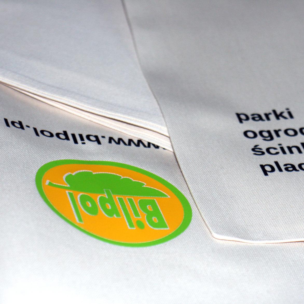 Nadruk na torbie bawełnianej (folia flex)